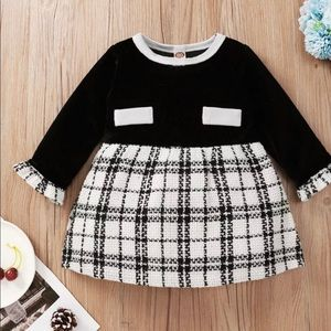 SALE New BABY 3M-18M Arrival Baby Girl Dress